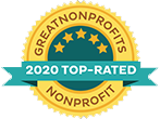 Great Nonprofits Top Rated 2020 logo
