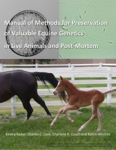 Manual of Methods for Genetic Preservation book cover