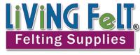 Living Felt Felting supplies logo