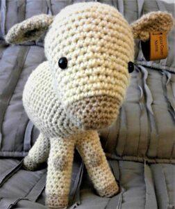 Gulf Coast Sheep stuffed crochet pattern